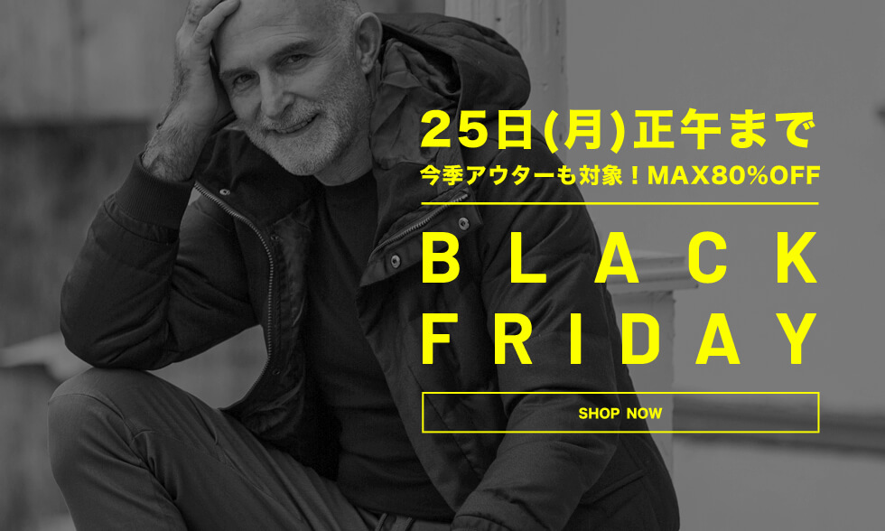 BLACK FRIDAY TIME SALE開催!!